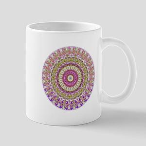 Pretty Hippy pink mandala Mugs