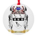 Nicolson Round Ornament