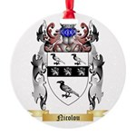 Nicolou Round Ornament