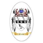 Nicolo Sticker (Oval 10 pk)