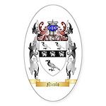 Nicolo Sticker (Oval 50 pk)