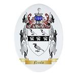 Nicolo Oval Ornament