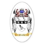 Nicolls Sticker (Oval 10 pk)