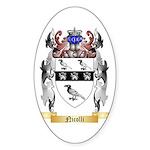 Nicolli Sticker (Oval)