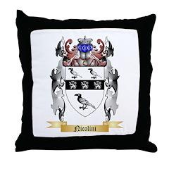 Nicolini Throw Pillow