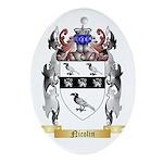Nicolin Oval Ornament