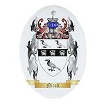 Nicoli Oval Ornament