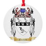 Nicoletti Round Ornament