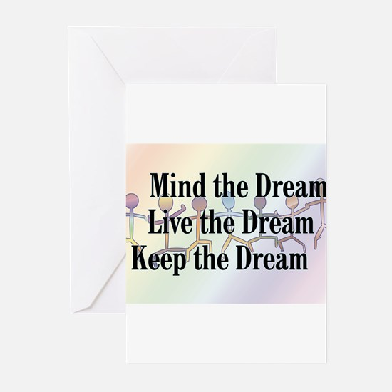 Unique I have dream Greeting Cards (Pk of 20)