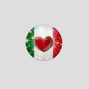 I Love Italy Mini Button