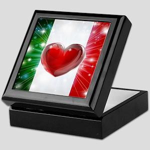 I Love Italy Keepsake Box