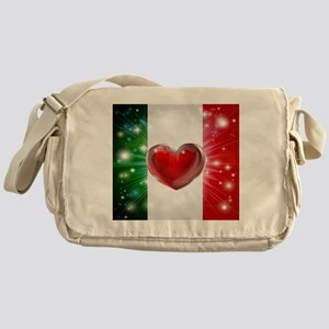 I Love Italy Messenger Bag