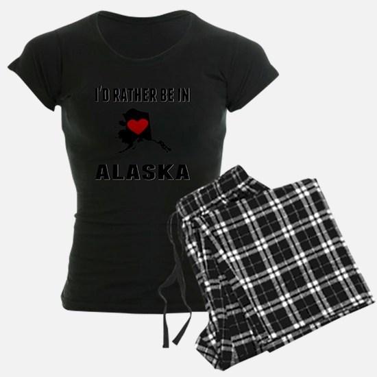 Id Rather Be In Alaska Pajamas