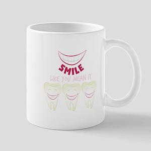 Smile Teeth Mugs