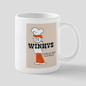 Winkys Hamburgers Logo Mugs