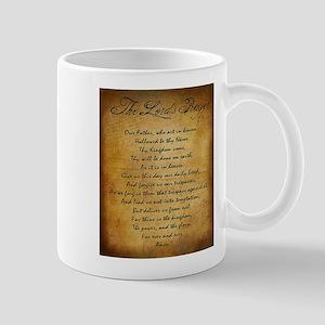 The Lords Prayer Mugs