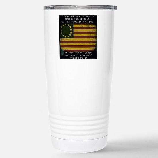 I Prefer Peace Travel Mug