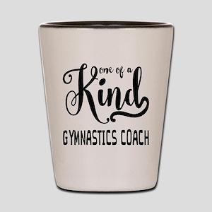 One of a Kind Gymnastics Coach Shot Glass