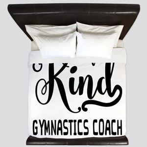 One of a Kind Gymnastics Coach King Duvet