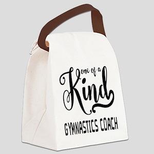 One of a Kind Gymnastics Coach Canvas Lunch Bag
