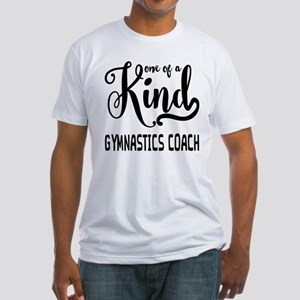 One of a Kind Gymnastics Coach Fitted T-Shirt