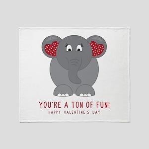Ton Of Fun Throw Blanket