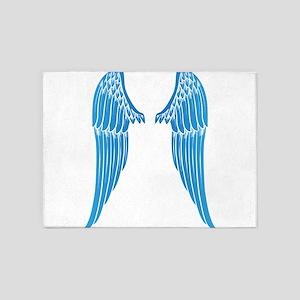 Angel wings 5'x7'Area Rug