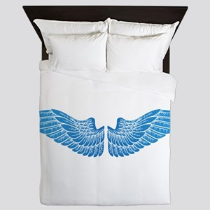 Angel wings Queen Duvet