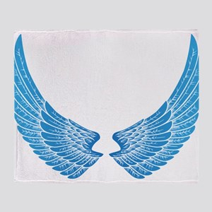 Angel wings Throw Blanket