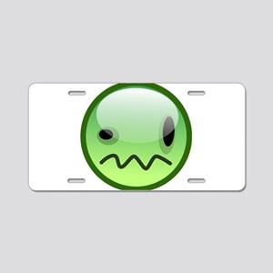 Emoticon emotions Aluminum License Plate