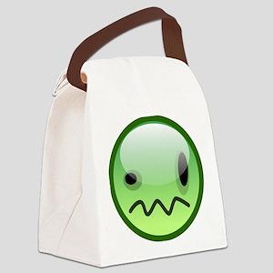 Emoticon emotions Canvas Lunch Bag