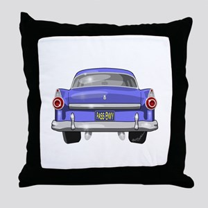 1955 Ford Throw Pillow