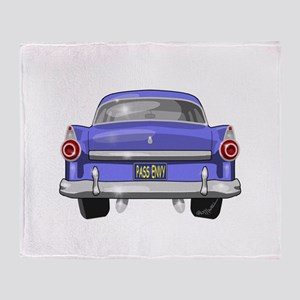 1955 Ford Throw Blanket
