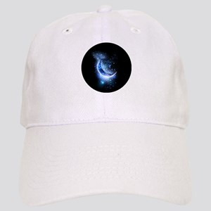Awesome moon and stars Cap