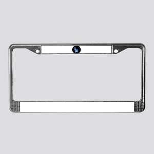 Awesome moon and stars License Plate Frame