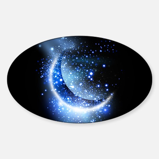 Awesome moon and stars Decal