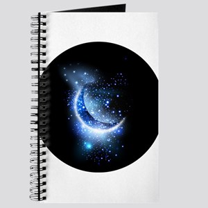 Awesome moon and stars Journal