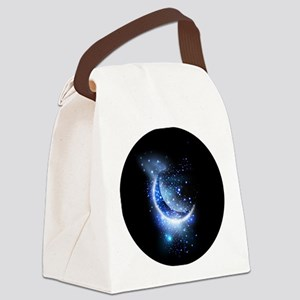 Awesome moon and stars Canvas Lunch Bag