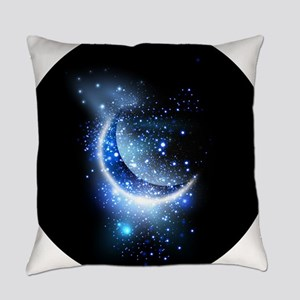 Awesome moon and stars Everyday Pillow
