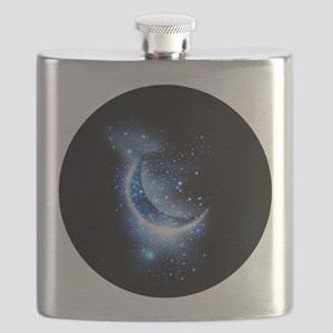Awesome moon and stars Flask
