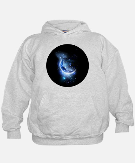 Awesome moon and stars Hoody