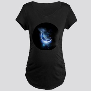 Awesome moon and stars Maternity T-Shirt