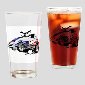 Race Pals Sharky Racer Drinking Glass