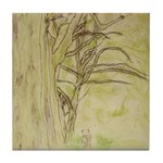 Sycamore Embrace Tile Coaster