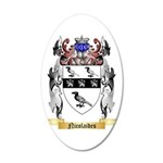 Nicolaides 35x21 Oval Wall Decal