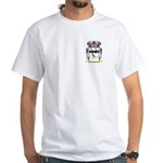 Nicolae White T-Shirt