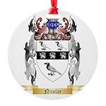 Nicolae Round Ornament