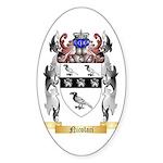 Nicolaci Sticker (Oval 10 pk)