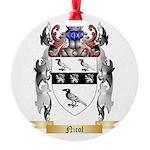Nicol Round Ornament