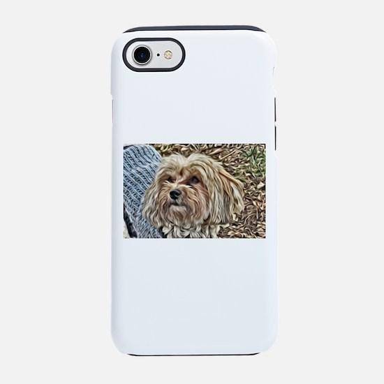 Copper in Blue iPhone 8/7 Tough Case